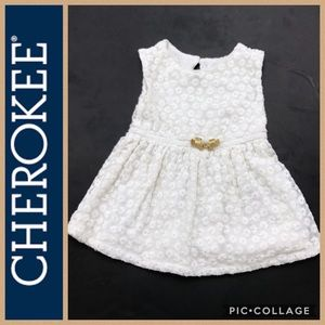 Formal Embroidered Baby Dress by CHEROKEE